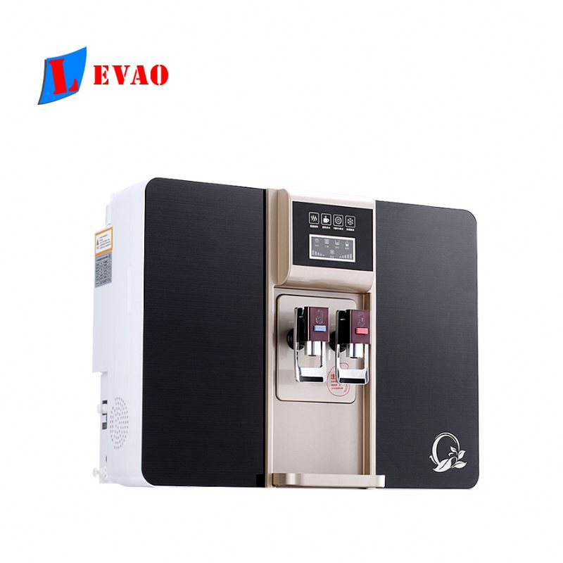 Promotional hot and cold home pure  water purifier dispenser ro water purification dispenser enlarge