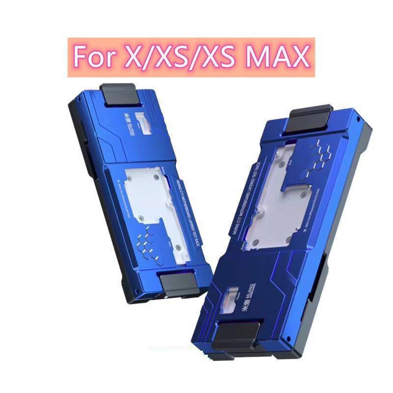 MJ C17 3 في 1 لـ X XS XSMAX ، اللوحة الأم ، التشخيص السريع ، اختبار الطبقات ، إصلاح Mijing c17