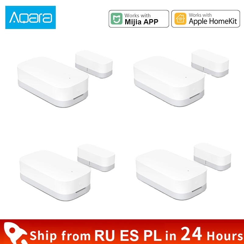Xiaomi Aqara Door Window Sensor Smart Home Zigbee Function Mini Sensor Remote Control Alarm Security