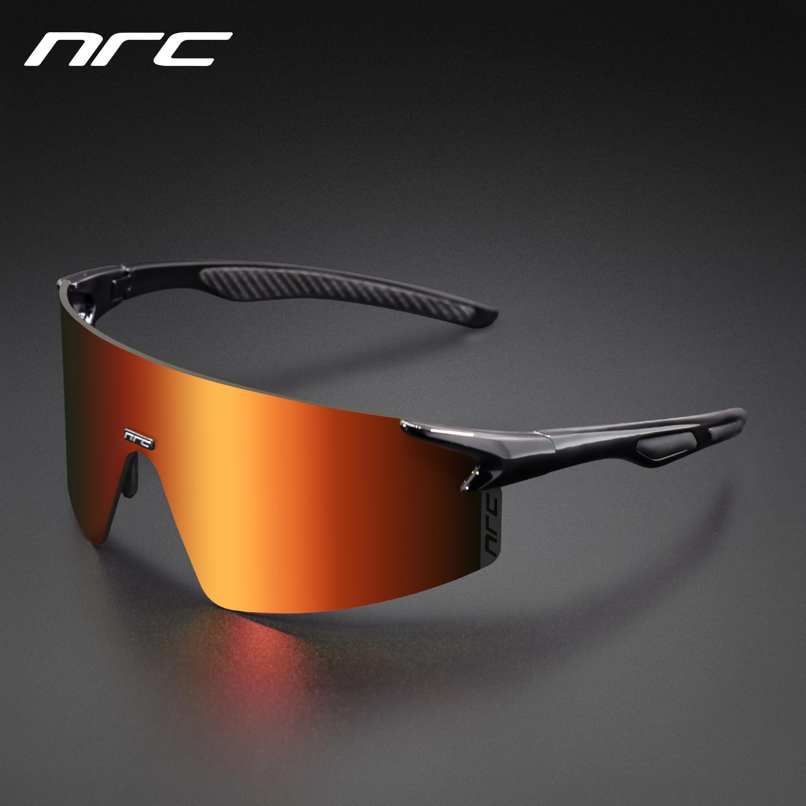 NRC 3 عدسة UV400 الدراجات النظارات TR90 دراجة هوائية للرياضة نظارات الدراجة الجبلية MTB الصيد التنزه ركوب نظارات للرجال النساء