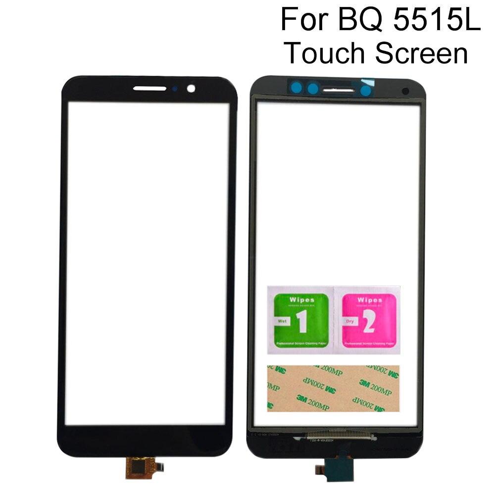 """5.5 """"tela de toque para bq móvel BQ-5515L bq 5515l bq5515l rápido painel vidro digitador da tela toque do telefone celular touchscreen ferramentas"""