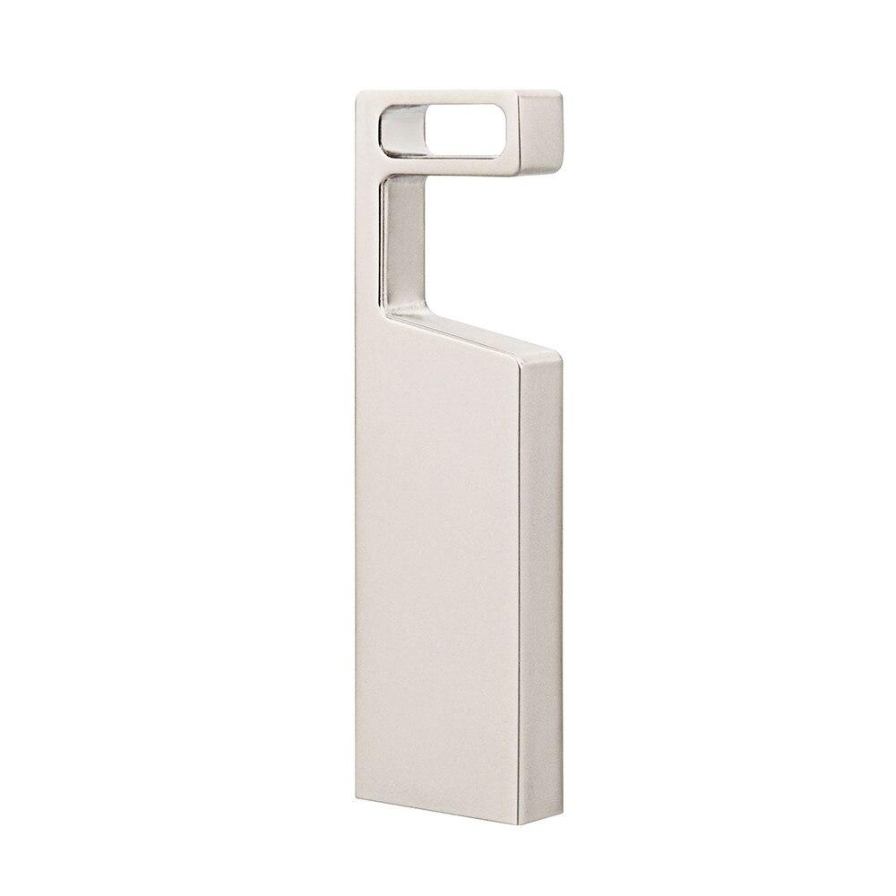 TOPESEL 32GB 64GB USB 2.0 Flash Drives Metal Memory Stick Waterproof Thumb Drive, Silver