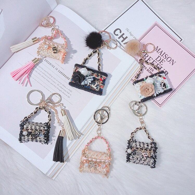 Норковая кисточка, модная сумка, модель брелока, брелок, сумка, брелок, подвеска, брелок, аксессуары, автомобильный брелок, брелок для ключей ... брелок cromia брелок