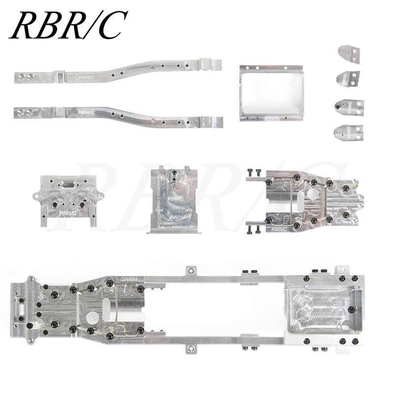 RBR/C R604S Full Metal Chassis DIY Modified Upgraded Accessory Part For WPL D12 1:10 Off-Road Drift
