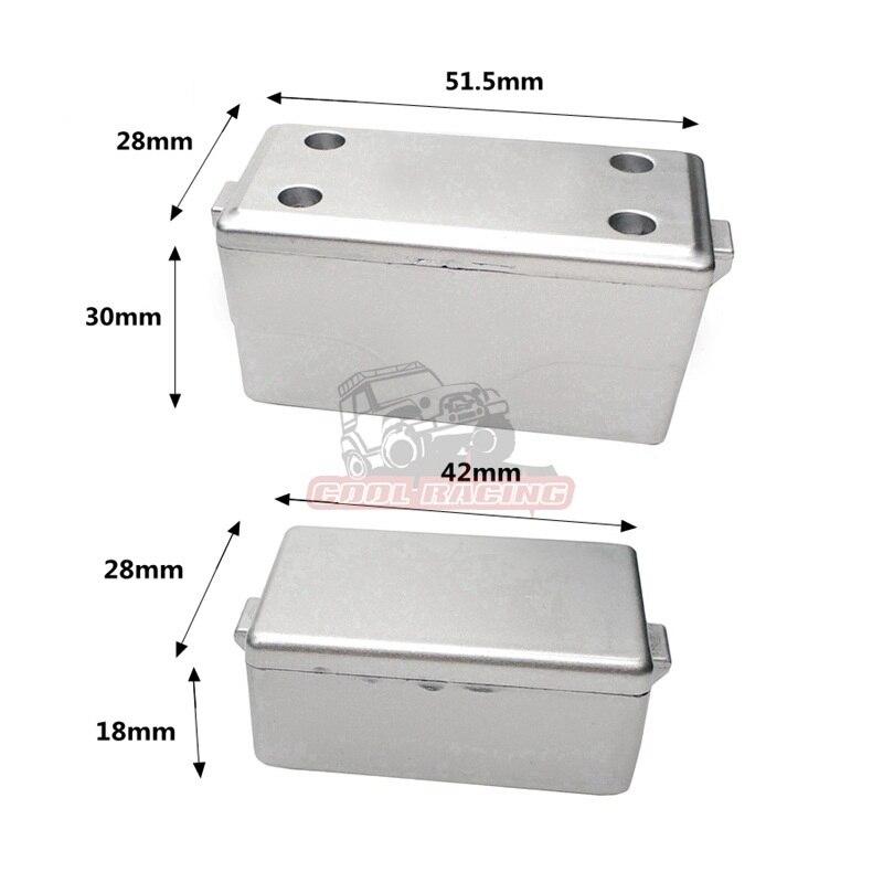 1/10 Crawler Rc Car Scale Accessories Hard Plastic Decorative Tool Box Set For Axial SCX10 D90 90046 TRX-4 WRAITH RC Car