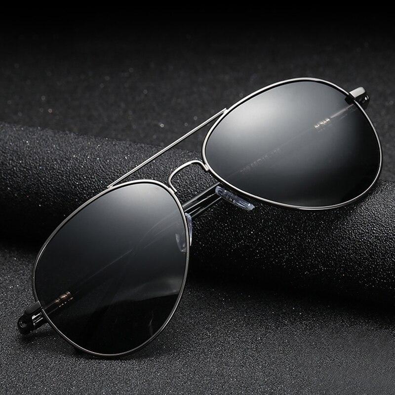 Classic Sunglasses Polarized Men Driving Glasses Black Pilot Sun Glasses Brand Designer Male Retro S