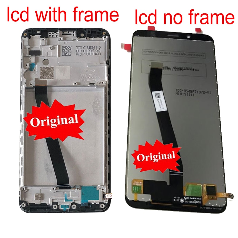 100% Original Best 10 point For Xiaomi Redmi 7A LCD Display Touch Screen Panel Digitizer Assembly Glass Sensor + Frame Pantalla enlarge