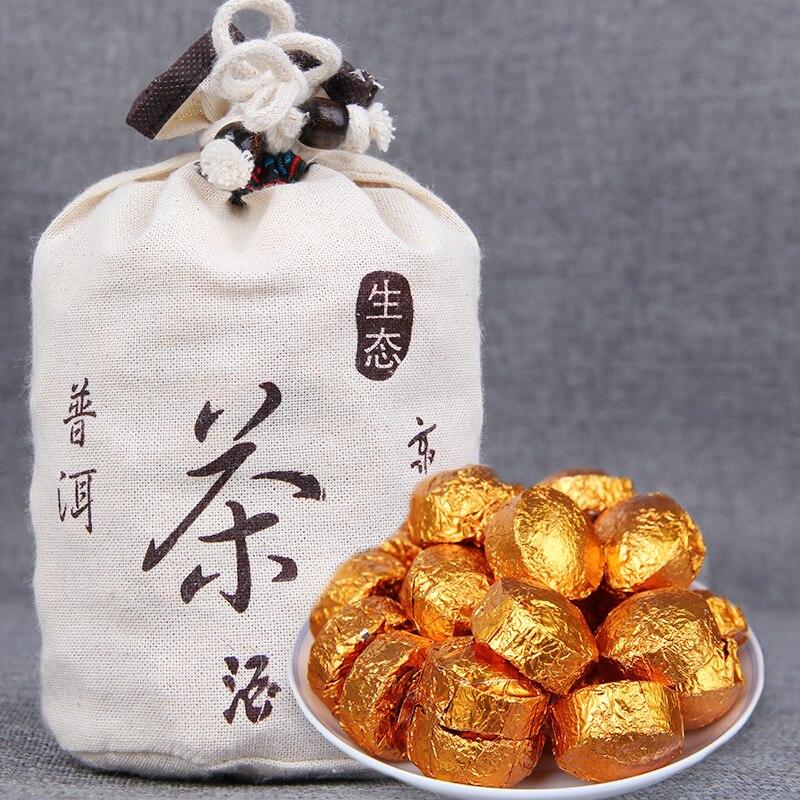 2020 الأرز الدبق رائحة شو بوير صغيرة Tuocha ناضجة بوير الشاي 500g كيس أبيض