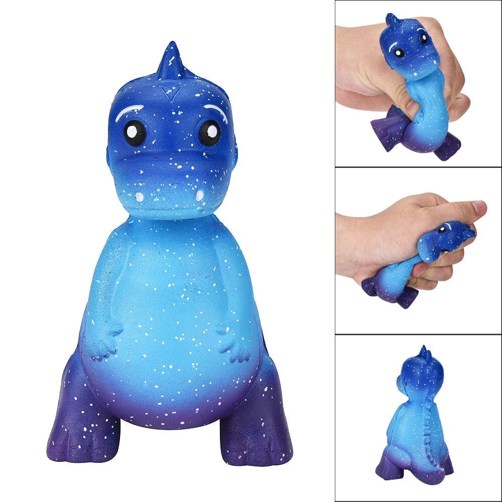 NEW Fidget Toys Galaxy Dinosaur Rex Squishy Jumbo Scented Cream Super Slow Rising Squeeze Toys Decompression Toy Slow Rebound 4* pu slow rebound jumbo squishy whale toys