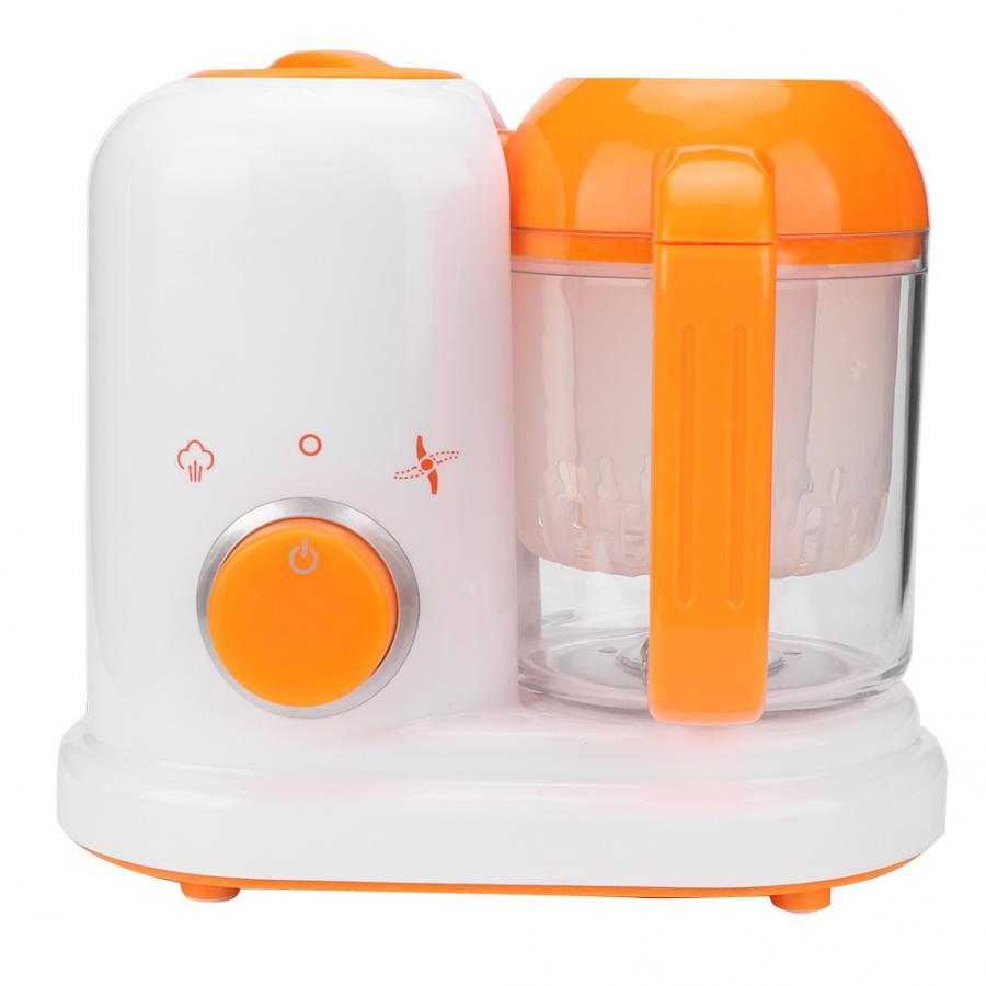 Sarten-batidora eléctrica multifunción para bebé, procesador de alimentos, amoladora de vapor, mezcladora,...