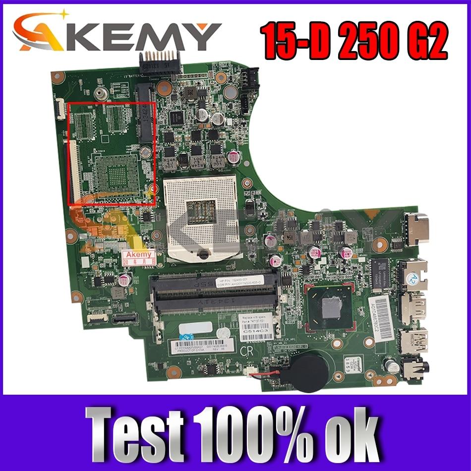 747137-601 ل HP بافيليون 15-D 250 G2 01094G00 747137-501 SLJ8E DDR3 دفتر اللوحة اللوحة اختبار كامل 100% العمل