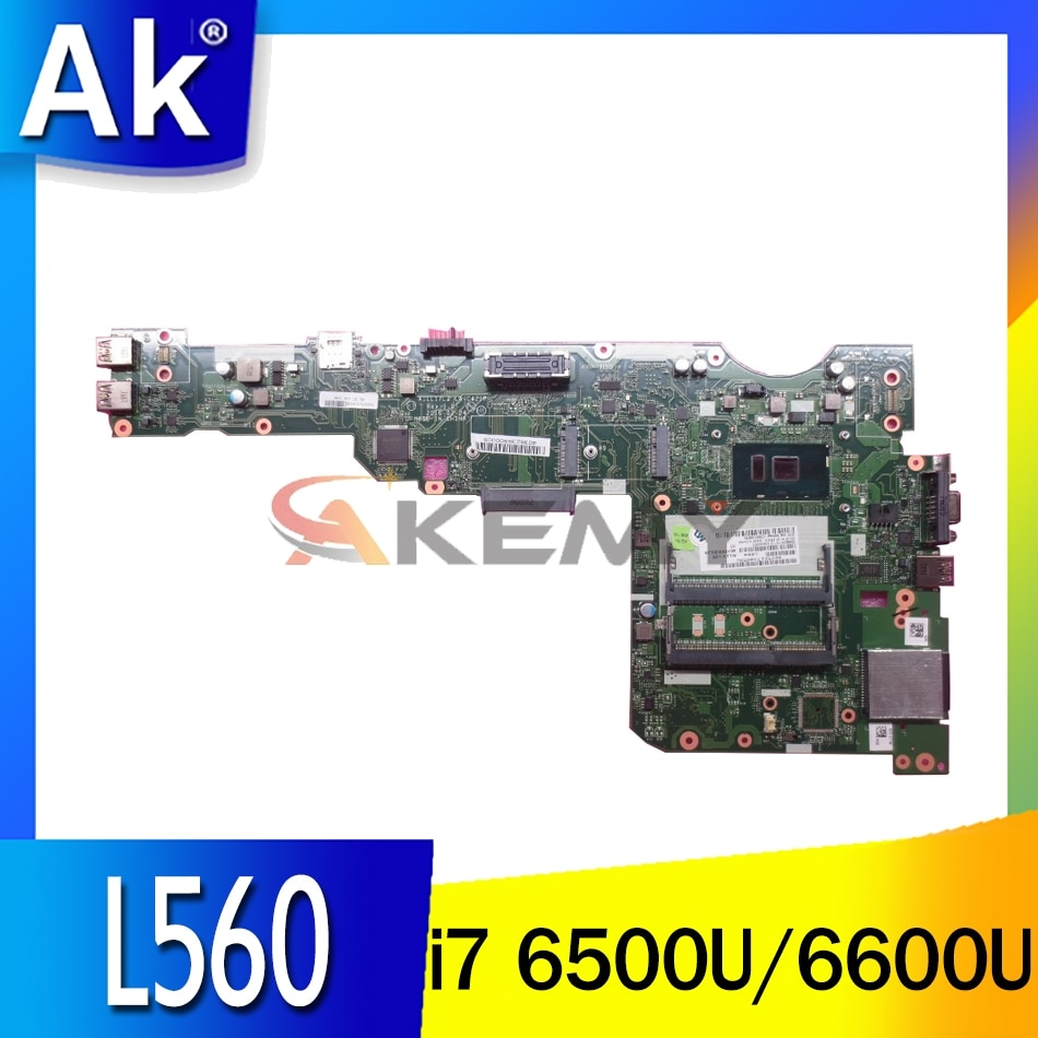 AILL1/L2 LA-C421P اللوحة الرئيسية لينوفو ثينك باد L560 اللوحة الأم مع i7 6500U 6600U DDR3 100% اختبار العمل بالكامل