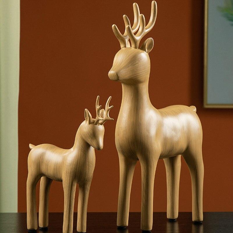 Sala de Estar Melhoria da Casa Cosas para el Artesanato Estatueta Suporte Sala Estar Criativo Presente Engraçado Hogar Casa Decoração Df50bj