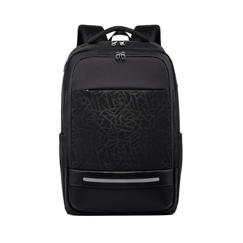 kingsons 15 inch laptop backpacks usb charging anti theft backpack men travel backpack waterproof school bag male mochila Men's Backpacks Anti-theft Waterproof School Oxford Travel USB Charging For 15.6 Inch Laptop Backpack Bag Male 1083#