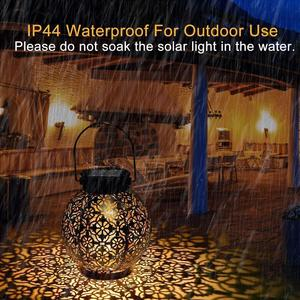 Solar Powered Lantern Fairy Light Waterproof Shower Light For Outdoor Garden Hanging Outdoor Garden Lawn Courtyard Decor