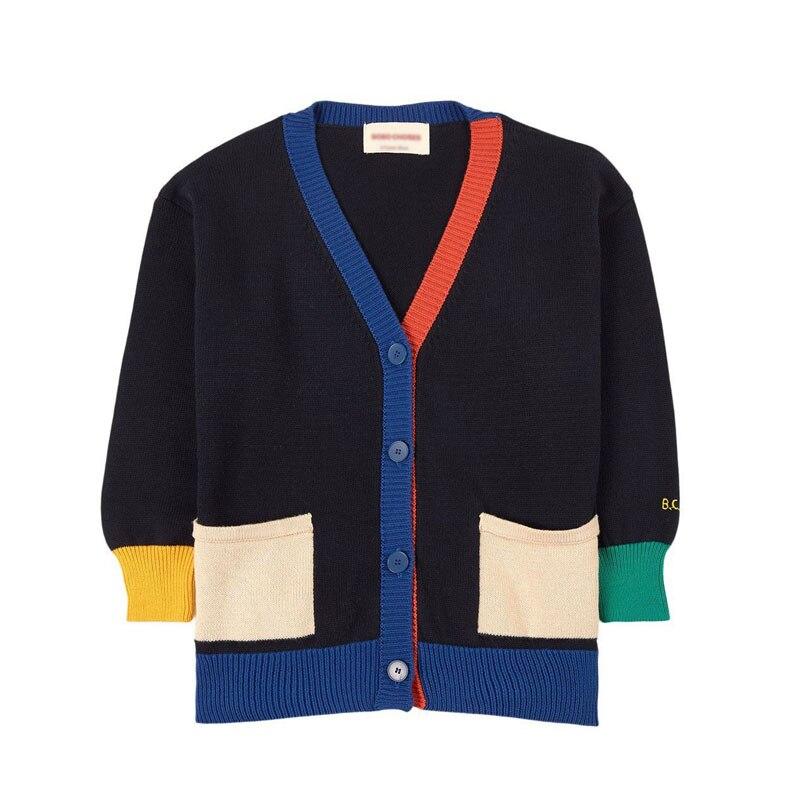 Фото - Детский свитер 2021, зимний кардиган, свитер для девочек, свитер, Детское пальто, Детский свитер с высоким воротником, вязаный свитер свитер oysho oysho ix001xw002on