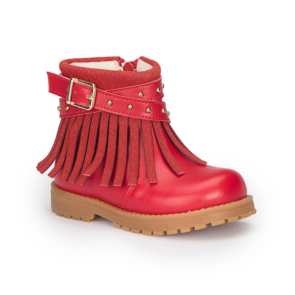 FLO 72.509538.B حذاء بولاريس أحمر للنساء والأطفال