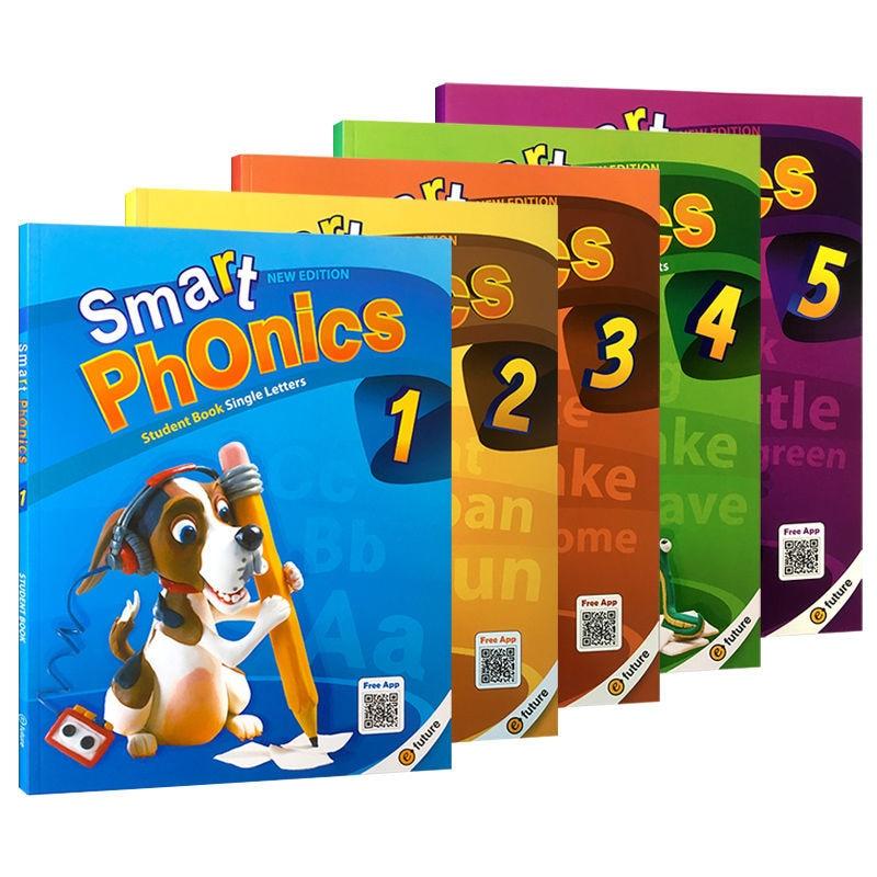 Smart Phonics Natural Spelling Children'S English 1/2/3/4/5 Teaching Materials Full Set Of English Educational Toys