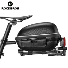 ROCKBROS Bike Bag Waterproof Hard Shell Hang Rear Reflective Light Load-Bearing Saddle Bag EVA Large Capacity Seat Bicycle Bag