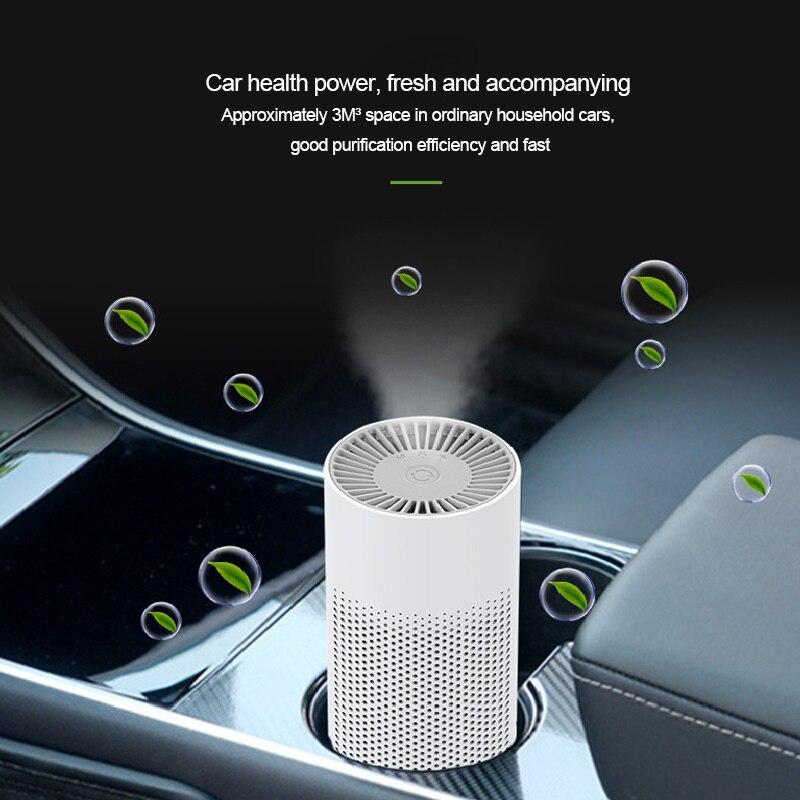 KBAYBO персональные очистители с отрицательными ионами, очиститель воздуха, Анионный генератор, портативный воздухоочиститель, фильтр, Очища...