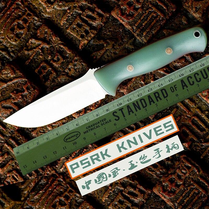 PSRK нож 59HRC 14C28N лезвие G10 ручка фиксированный нож Открытый походный инструмент для Выживания Охотничий Тактический нож утилита EDC инструмент