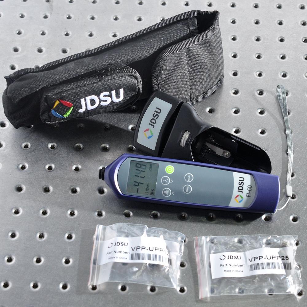 JDSU FI-60 Optical fiber identifier with integrated optical power meter Optical fiber communication instrument enlarge