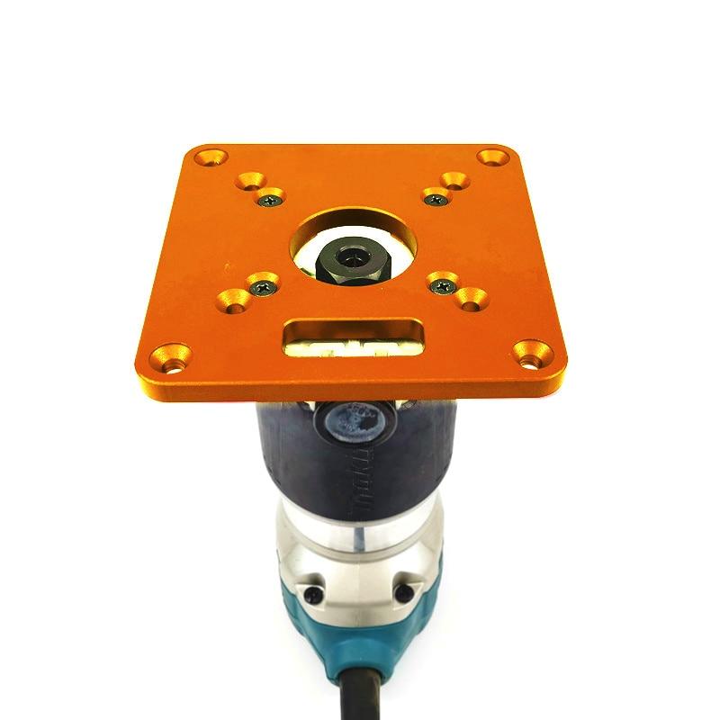 Router Universal Placa de inserción de mesa RT0700C bancos de carpintería aluminio madera Router Trimmer modelos máquina de grabado