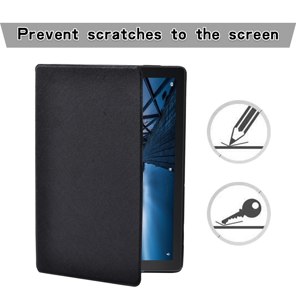 For Lenovo Tab M10 10.1/Tab E10 10.1 Inch Tablet Case with Support Function Protective Shell + Free Stylus enlarge