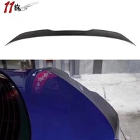 f10 forged carbon spoilers fit for 5 series f10 2010 2016 rear wing carbon fiber spoiler trunk boot spoilers
