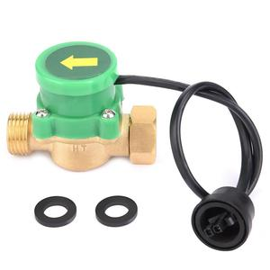 G1/2-G1/2 Thread Water Pump Flow Sensor Electronic Pressure Automatic Control Switch 220V Chamber and Electronic Hot Cold Water