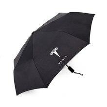 Krada parapluie 1X pour Tesla modèle 3 modèle S   Pare-soleil pliable, UV, parapluie imperméable, accessoires de voiture