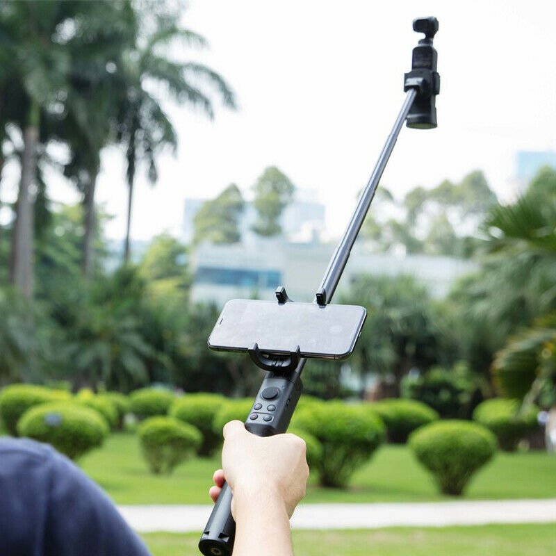 New For DJI OSMO Pocket 50CM Retractable Extension Rod Tripod Clip Mount Improving Shooting Different Angles Experience enlarge