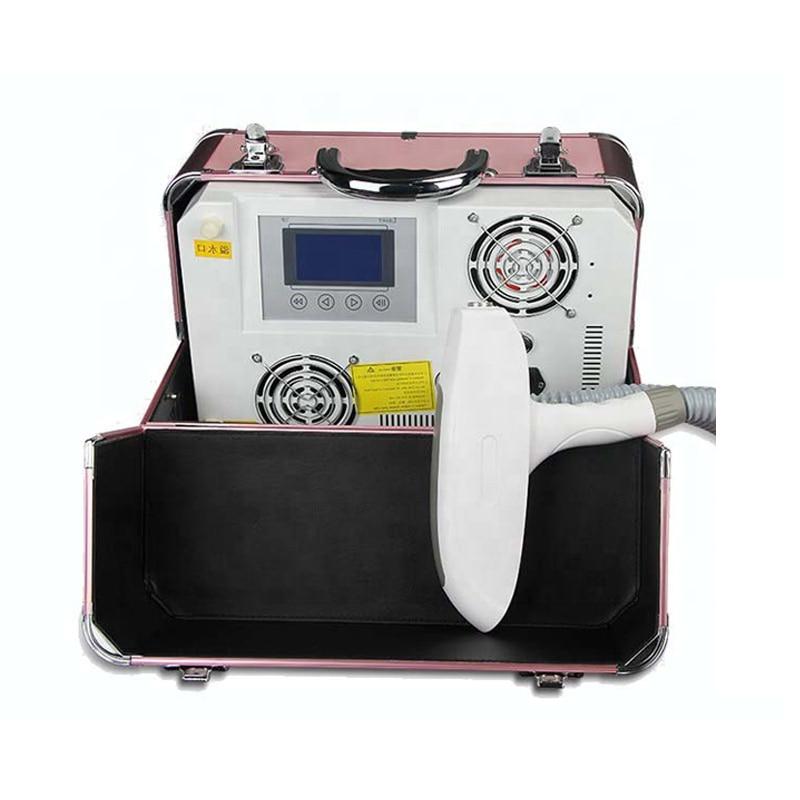 Portable Wash Tattoo Eyebrow machine Beauty 532nm Machine Long Pulse 1064nm Equipment Solid Nd Yag Laser Tattoo Removal Machine