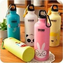 Botella de agua de Animal de dibujos animados, hidrotermo portátil, precioso deporte, senderismo, Biking, botella de agua escolar para niños