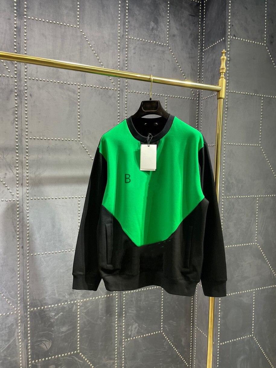 2021 جديد لون التباين سلسلة ملابس رياضية جميع القطن سترة النسيج هو المألوف وبارد ، الرجال والنساء عادية على حد سواء
