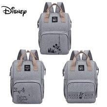 Disney Minnie Mickey sac à langer sac à dos pour momie sac de maternité pour poussette sac grande capacité bébé Nappy sac organisateur nouveau