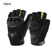 XUEYU Motorcycle Gloves Half Finger Gloves Luva Guantes Moto Guanti Summer Breathable Biker Motocross Motorbike Riding Gloves