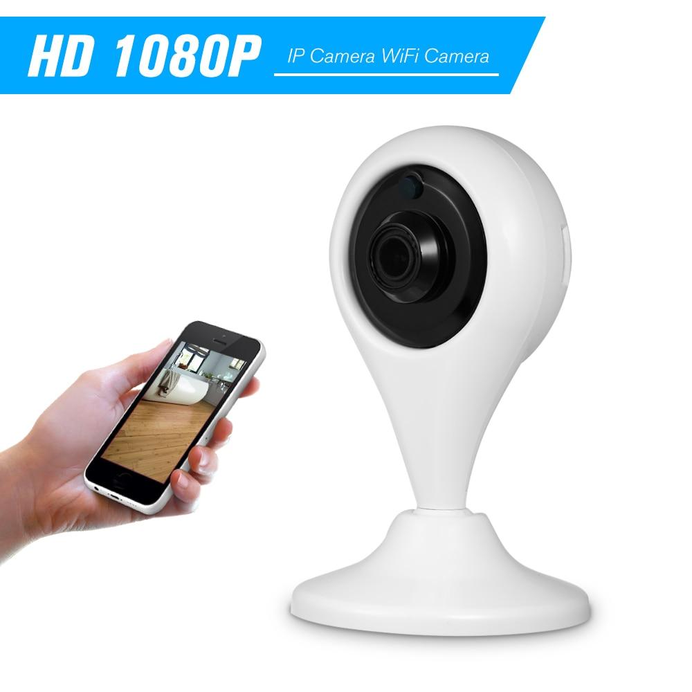 1080 p câmera ip wifi câmera monitor do bebê 2.0mp 6 leds ir IR-CUT detecção de movimento visão noturna com slot para cartão tf externo