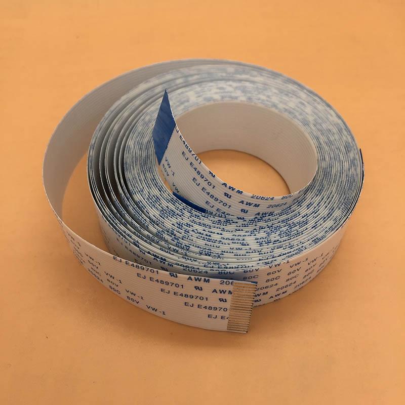 Cable Mimaki JV33 de larga fecha, 30 Pines, 50 pines para impresora de inyección Mimaki JV5 TS3 Sunika 2160, cabezal de impresión DX5, cable plano flexible FFC
