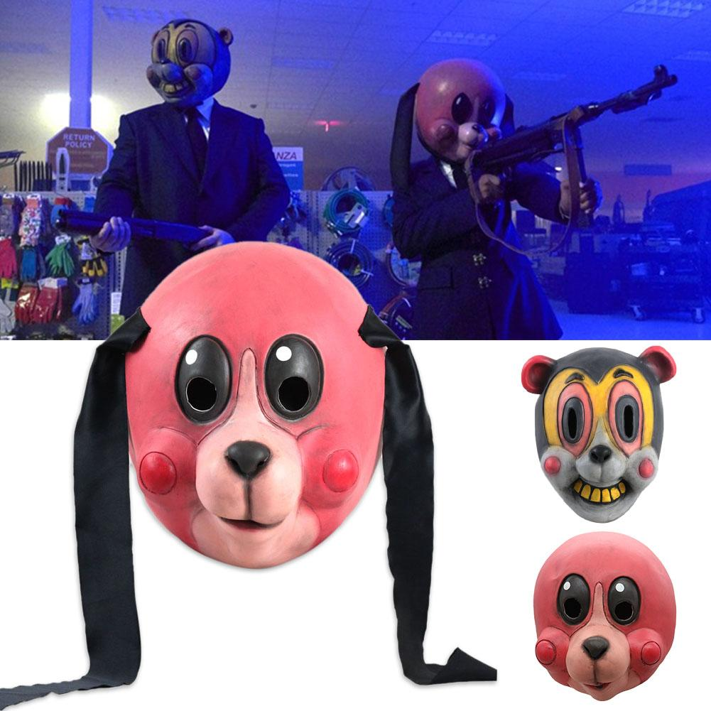 La Academia paraguas Hazel Cha máscara casco accesorio para Halloween Cosplay, Carnaval, Pascua