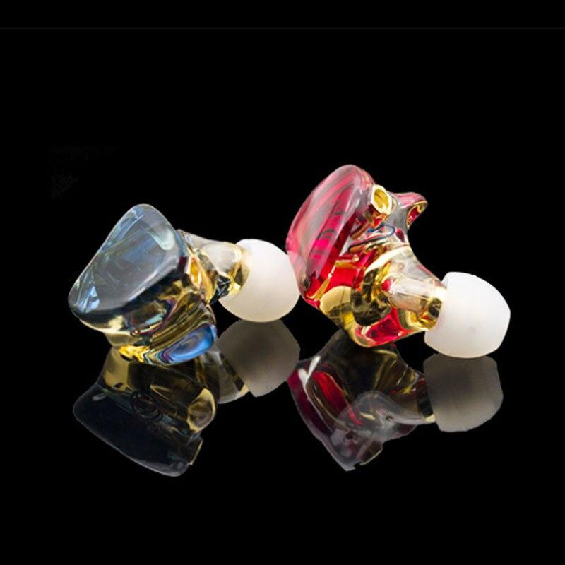 MMCX earphone Hi-Res HIFI Hybrid Earphone 1BA+1DD Earbuds Powerful Stereo Bluetooth Earphones Dj monitor headphones 3.5mm cable