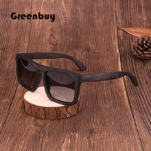 2019 Vintage sunglasses Dumu wood polarized UV400 brand Male driving glasses sunglasses woman square glasses #GB2065