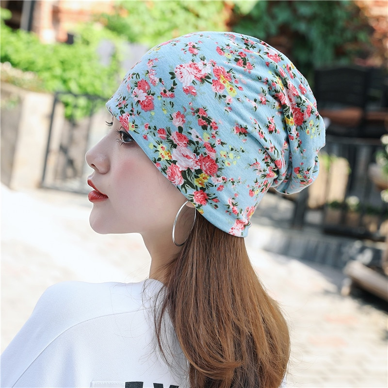 Floral Printing Soft Sweat Pregnant Woman Scarf Mommy Hat Warmer Ear erchief Headpiece Turban Hairband шарф повязка на голову