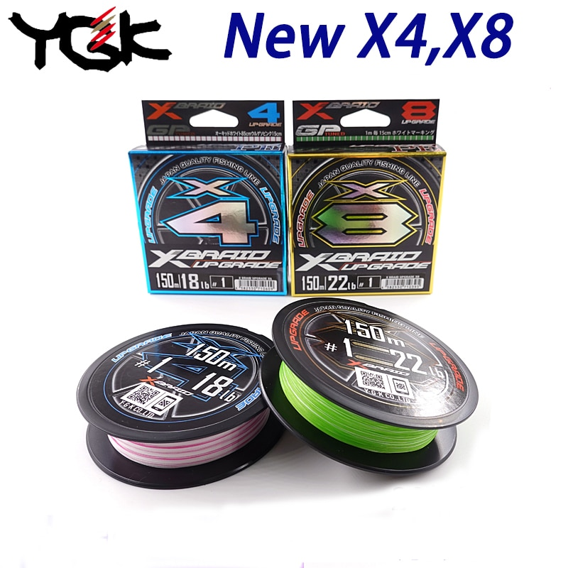 aliexpress.com - Fishing Line Japan original YGK X4 X8 XBraid Upgrade PE Line high stength Multifilament Lure Line Thinner cord 0.25# 0.3# 0.4#