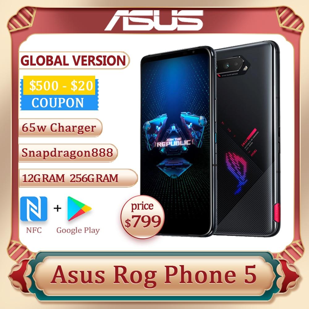 ASUS ROG телефон, 5 дюймов, Snapdragon 256, 6000 ГБ ОЗУ Гб ПЗУ, мАч, 65 Вт