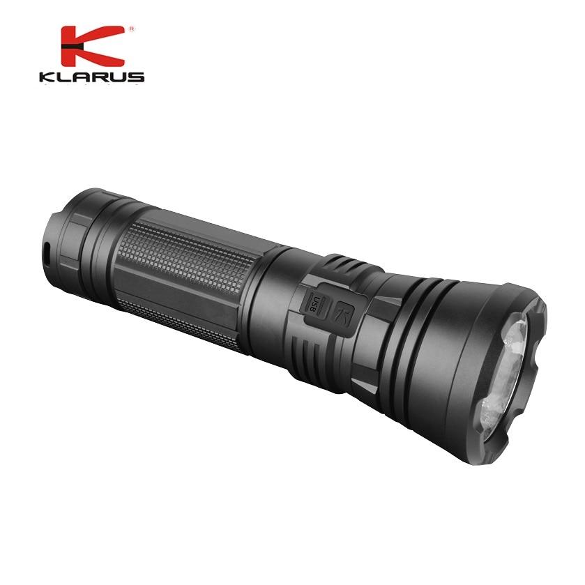 2021 KLARUS G20L LED Flashlight CREE XHP70.2 P2 3000 Lumens High Power Tactical Flashlight Led Torch with 26650 Li-ion Batteries enlarge