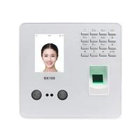 zk bk100 tcpip usb biometric fingerprint face recognition employee attendance machine time clock recorder device