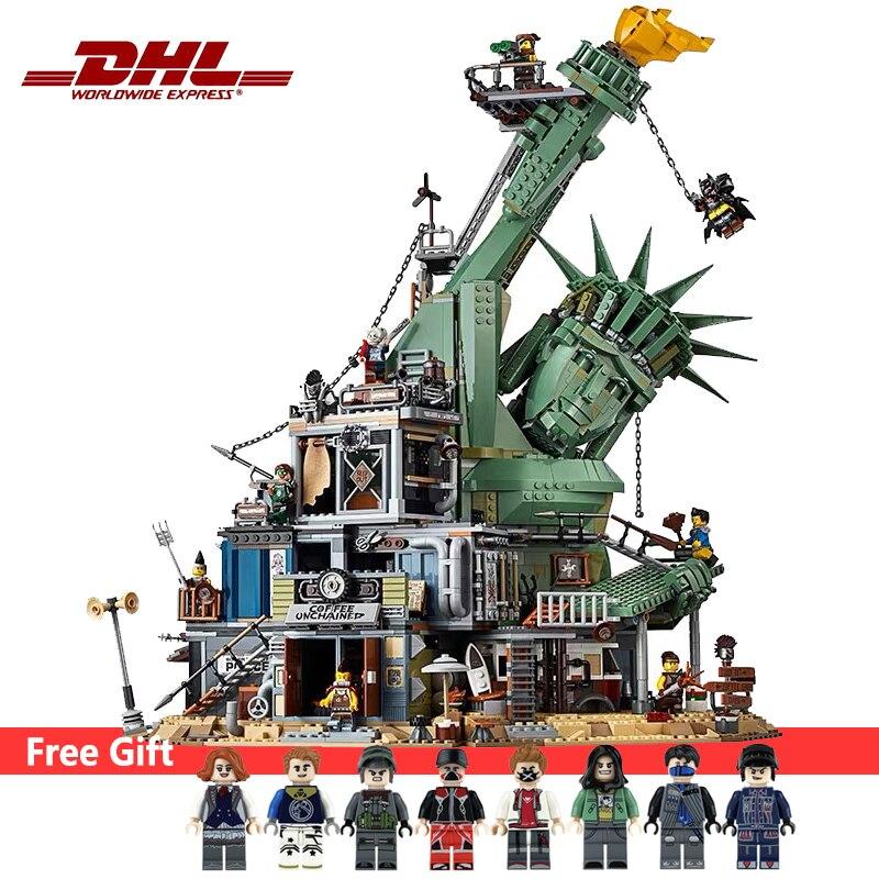 ¡DHL 45014 11252 3260 Uds. Bienvenidos a Apocalypseburg! Juego de bloques de construcción de juguete