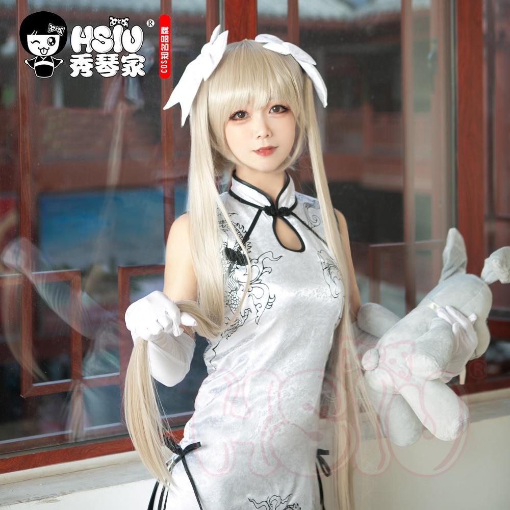 HSIU سورا Kasugano شعر مستعار تأثيري Yosuga لا سورا دسم الشعر الذهبي الطويل