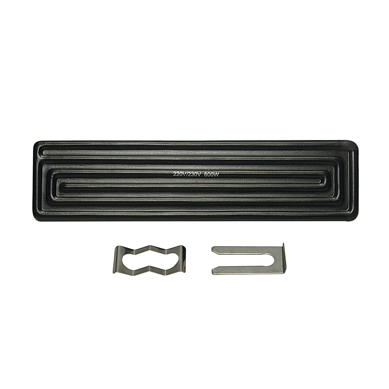 new 80 80mm 450w infrared top upper four specifications bottom ceramic heating plate for bga rework station tools 200x60mm 240*60mm 600W Infrared Bottom Ceramic Heating Plate for IR BGA Rework Station Honton R392 R490